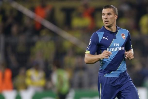 Lukas Podolski Terus Berjuang Untuk Dapatkan Tempat Utama