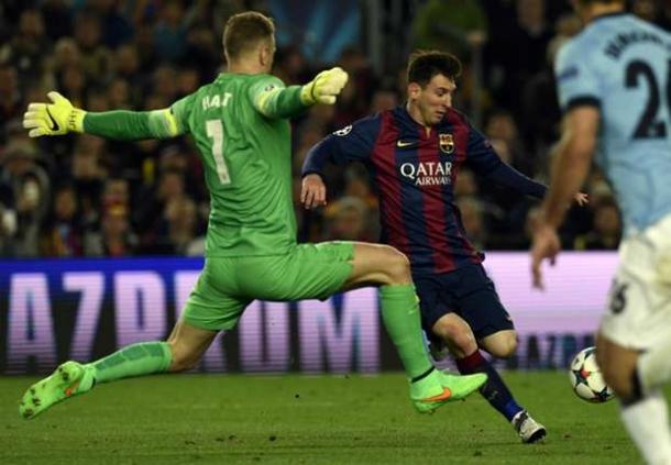 Dapatkan Sanjungan Dari Lionel Messi Joe Hart Tidak Ingin Sombong
