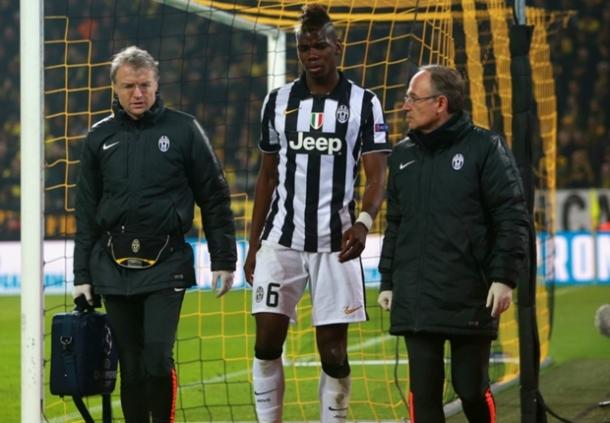 Paul Pogba  Diperkirakan Menepi Slama Sebulan