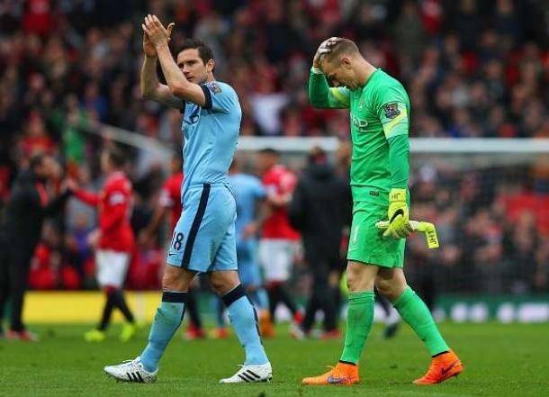 Dikalahkan Manchester United Joe Hart Sakit Hatinya