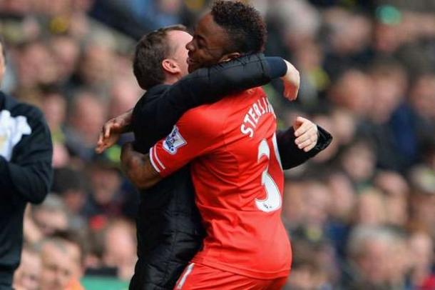 Brendan Rodgers Benrakan Raheem Sterling Merapat Ke Manchester City