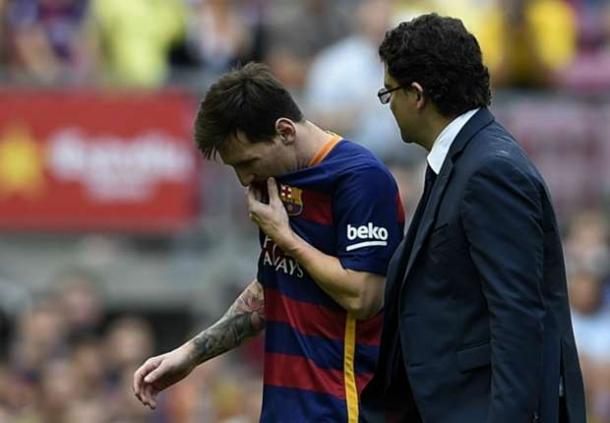 Barcelona Harus Kehilangan Iconnya 8 Minggu